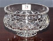 Sale 8127A - Lot 74 - Irish Waterford Hand Cut Lead Crystal Berry Bowl,