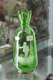 Sale 8195 - Lot 54 - Mary Gregory Vase