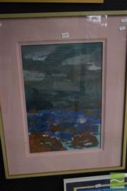 Sale 8522 - Lot 2051 - Artist Unknown Seascape, acrylic on canvas, 70 x 50cm (frame size), unsigned -
