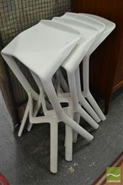 Sale 8528 - Lot 1092 - Set of Four Shark Stools by Grcic