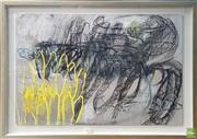 Sale 8595 - Lot 2039 - Julianne Lord, Pollen Series III, pastel on paper, 51.5 x 72cm (frame: 54 x 84cm), unsigned