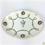 Sale 8649 - Lot 98 - Probably Late 18th Century Chelsea Derby Lobed Dish