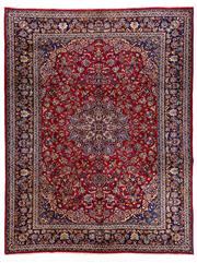 Sale 8770C - Lot 23 - A Persian Najafabad From Isfahan Region 100% Wool Pile On Cotton Foundation, 300 x 345cm