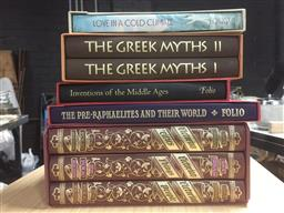 Sale 9152 - Lot 2448 - 8 Volumes of Folio Society Books incl. 3 vol set Briggs, A.S.A. Victorian Trilogy , Victorian Things, Cities, People; Rossetti, W....