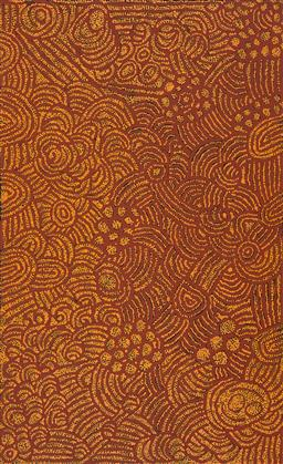 Sale 9239A - Lot 5014 - MARLENE YOUNG NUNGURRAYI (1973 - ) Minyma Tjukurrpa acrylic on canvas 157 x 96 cm (stretched and ready to hang) signed verso; certif...