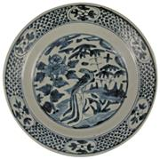 Sale 8040 - Lot 47 - Late Ming Export Ware Plate
