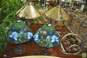 Sale 8331 - Lot 1024 - 2 Pairs of Table Lamps