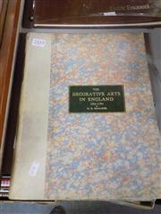 Sale 8407T - Lot 2333 - Art Book (1) Decorative Arts in England by Mulliner