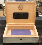 Sale 8709 - Lot 1059 - A humidor by Humidif, approx 35cm