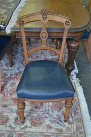 Sale 8093 - Lot 1830 - Set of 12 Victorian Oak Dining Chairs