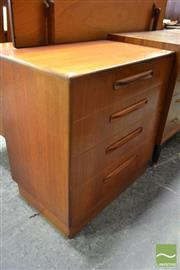 Sale 8528 - Lot 1040 - G-Plan Chest of 4 Drawers