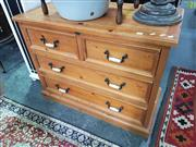 Sale 8566 - Lot 1282 - Chest of Four Drawers (105)