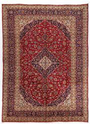 Sale 8770C - Lot 17 - A Persian Kashan From Isfahan Region 100% Wool Pile On Cotton Foundation, 396 x 290cm