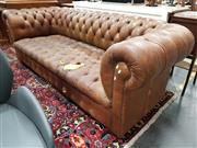 Sale 8777 - Lot 1040 - Chesterfield Three Seater Sofa