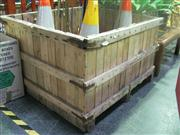 Sale 7974A - Lot 1041 - Timber Planter Box (111 x 98 x 66cm)
