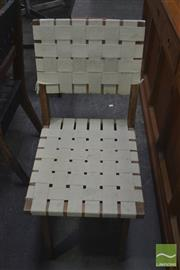 Sale 8341 - Lot 1094 - Set of Six Snelling Style Dining Chairs