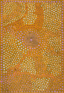 Sale 9239A - Lot 5085 - JOYLENE REID NAPANGARDI (1971 - ) Rock holes acrylic on canvas 143 x 99 cm (stretched and ready to hang) signed verso; certificate o...