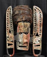 Sale 8168 - Lot 549 - Malagan Ceremonial Mask (New Ireland, PNG)