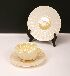 Sale 3568 - Lot 151 - A BELLEEK PORCELAIN TRIO
