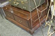 Sale 7981A - Lot 1071 - Timber Two Drawer Coffee Table