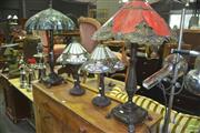 Sale 8331 - Lot 1040 - Collection of 4 Table Lamps