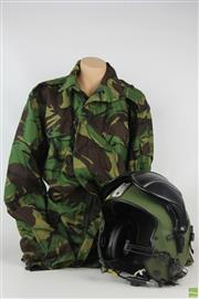 Sale 8560 - Lot 2 - Air Force (Alpha) Flying Helmet With Jacket