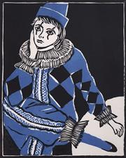Sale 8682 - Lot 2021 - Dawn Bailey - Harlequin, woodcut, ed.1/25, 31 x 24.5cm, signed lower right -