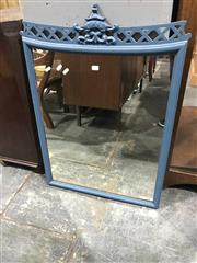 Sale 8942 - Lot 1055 - Painted Timber Framed Mirror (H: 86 x W: 60cm)