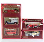 Sale 8960T - Lot 39 - Matchbox Models of Yesteryear Limited Edition Gift Set with two other toy cars