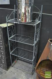Sale 8289 - Lot 1013 - Metal Bakers Stand