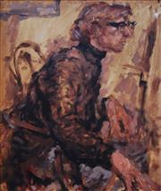 Sale 8652A - Lot 5060 - Alan Stuthridge (1924 - 2001) - Self Portrait, c1960 70 x 60cm