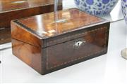 Sale 8100 - Lot 19 - Victorian Timber Inlaid Writing Slope