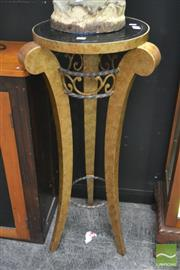 Sale 8262 - Lot 1014 - Marble Top Jardiniere Stand