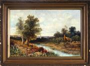 Sale 9015J - Lot 152 - Frederick Hall (1860 - 1948) - Summers Day 49.5 x 75 cm (frame: 70 x 95 x 4 cm)