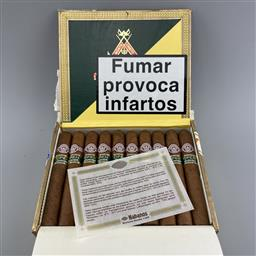 Sale 9165 - Lot 604 - Montecristo Open Junior Cuban Cigars - box of 20 cigars, dated May 2010