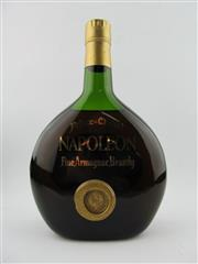Sale 8385 - Lot 606 - 1x Prince de Chabot Napoleon Armagnac - old bottling, evaporative losses