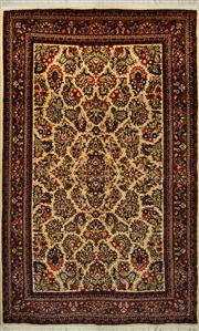 Sale 8412C - Lot 12 - Persian Tabriz 210cm x 130cm