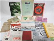 Sale 8900 - Lot 33 - Collection of Motoring Ephemera incl. The Motor in Australia & Flying; Opening of the Gladesville Bridge 1964; Marshall Batteri...
