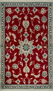 Sale 8439C - Lot 86 - Persian Nain Taba 150cm x 90cm
