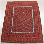 Sale 8438K - Lot 21 - Fine Kyber Afghan Kilim Rug | 314x249cm, Pure Wool, Finely handwoven in Northern Afghanistan using high quality local wool. Rich and...