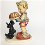 Sale 8456B - Lot 69 - Hummel Figure of a Boy with Cake