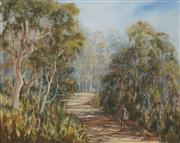 Sale 8682 - Lot 2031 - Kathy OShannessy - The Old Timer Swagman 39 x 49cm