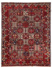 Sale 8770C - Lot 36 - A Persian Bakhtiyari And Classic Garden Design, 100% Wool On Cotton, Classed As Prerevolution Weave, 345 x 265cm