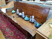 Sale 8469 - Lot 1048 - Timber Metamorphic Table into Two Seater Bench Seat