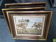 Sale 8573 - Lot 2035 - Doris Killip (5) Works - Country Scenes frame size: 30 x 35cm (3), 25 x 30cm (2)