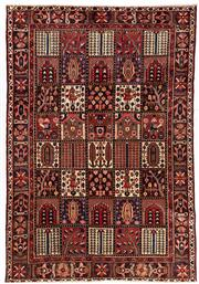 Sale 8770C - Lot 59 - A Persian Bakhtiyari And Classic Garden Design, 100% Wool On Cotton, Classed As Prerevolution Weave, 312 x 212cm