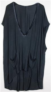 Sale 8060B - Lot 349 - A CAMILLA 'GOLDEN DYNASTY' MIDNIGHT BLACK TOP; in jersey, large size