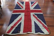 Sale 8288 - Lot 42 - Large Union Jack Flag