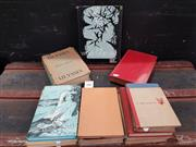 Sale 8822B - Lot 709 - Collection of Books incl Lowell Thomas With Lawrence in Arabia Hutchison & Co 13th Ed