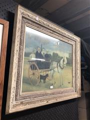 Sale 8850 - Lot 2060 - Framed Print - Carriage Ride, 38x50cm
